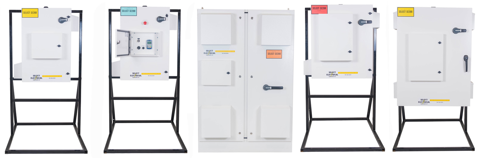 Photo of Select Electrical VFD packages.